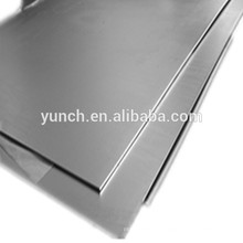W1 pure tungsten plate used in chemical plant