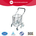 Protable 8-Wheel Upstair-Climbing Shopping Cart