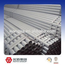 Strong Loading Capacity Hot dipped galvanized STK500 Steel Pipe 6M for africa
