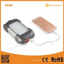 Lumifire 3500 21 LED USB pour charge mobile Dynamo Hand Crank Lanterne de camping solaire