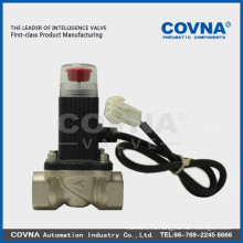 Клапан аварийного газа, клапан из нержавеющей стали, газовый клапан, электромагнитный клапан 1 дюйм