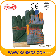 Rainbow Furniture Cowhide Leather Winter Work Industrial Safety Gloves (31301)