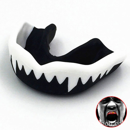Professional Adult Karate Muay Safety Soft EVA Anti Grinding Boxing Mouth Guard