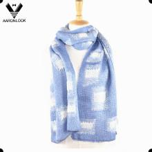 Mode Winter Stricken Pattern Jacquard Männer Schal
