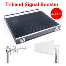 900/1800/2100/2600 MHz 3G 4G Lte Repetidor Repetidor del amplificador del amplificador de la señal del teléfono móvil