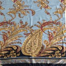 100% Rayon Big Flower Print Fabric