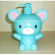 Mini figura de animales niños infantiles inflables Kitty patio de juegos muñeca muñeca de plástico