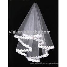 2013 Applique Tulle Hochzeit Schleier V006