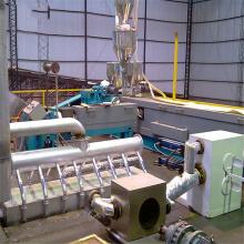 Machine de fabrication de solides solubles à haute efficacité