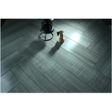 12.3mm Mirror Oak Water Resistant V-Grooved Laminated Flooring