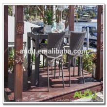 Audu Bar Aluminum Metal Wire Mesh Outdoor Furniture