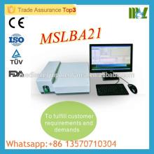MSLBA21M Analyseur de biochimie semiautomatique Protable de haute qualité travaille avec ordinateur