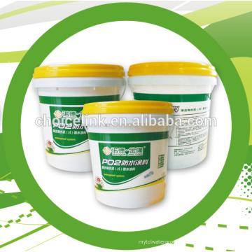 Revestimiento impermeabilizante de poliuretano a base de agua de doble componente