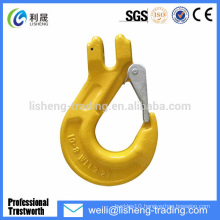 g80 forged clevis slip crane hook dimensions