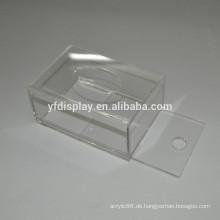 Angepasste und recycelte Acryl Tissue Box Cover