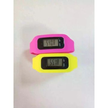 Montres en silicone pour le sport Calorie Step Time Calculating