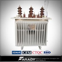 Dépassement de la distribution d'énergie Transformateur d'huile 160kva