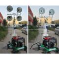 Мини-промышленная мобильная светлая башня для чрезвычайных ситуаций
