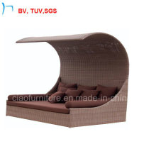 Patio Garden Wicker Modern Chaise Sun Lounge (S-3051)