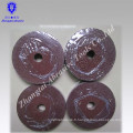 carbure de silicium de disque de fibre de haute qualité pour la pierre de meulage, acier inoxydable