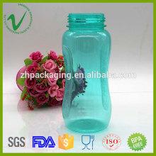 Cilindro transparente de grau alimentar que bebe garrafa de plástico desportiva livre de BPA