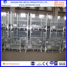 Récipient / boîte de fil pliables moyens logistiques industriels supérieurs de vente pour le stockage