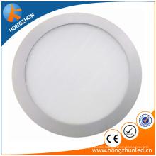 China manufaturer CE ROHS aprobado ronda led luz del panel Ra> 75 2 años de garantía