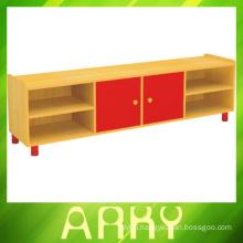 Kindergarten Furniture Children Wooden TV Cabinet