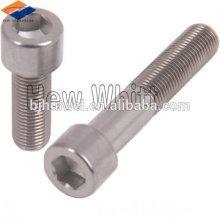 Baoji factory titanium hex socket cap bolt