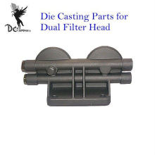 Aluminium Injection Die Casting Components For Dual Filter Head