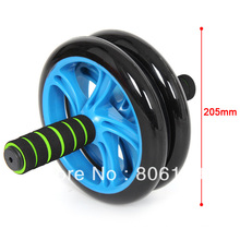 Durable Ab Roller Exercise Wheel with Resistance Bands
