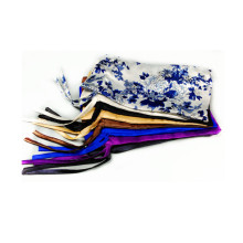 traditional style printed satin bag single stretch