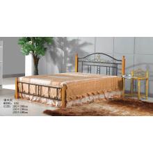 Venta caliente nueva cama de acero simple diseñada (535 #)