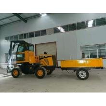 WHEEL EXCAVATOR LOADER TRANSPORTER