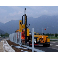 Pole erection machine longgoing road drilling machine