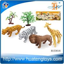 2014 Wholsale Plastik wildes lebensechtes Tierspielzeug, Tierfigürchen Spielzeug H133616