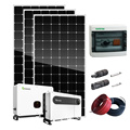 Kit solar de energía alternativa de alta eficiencia de 5kw