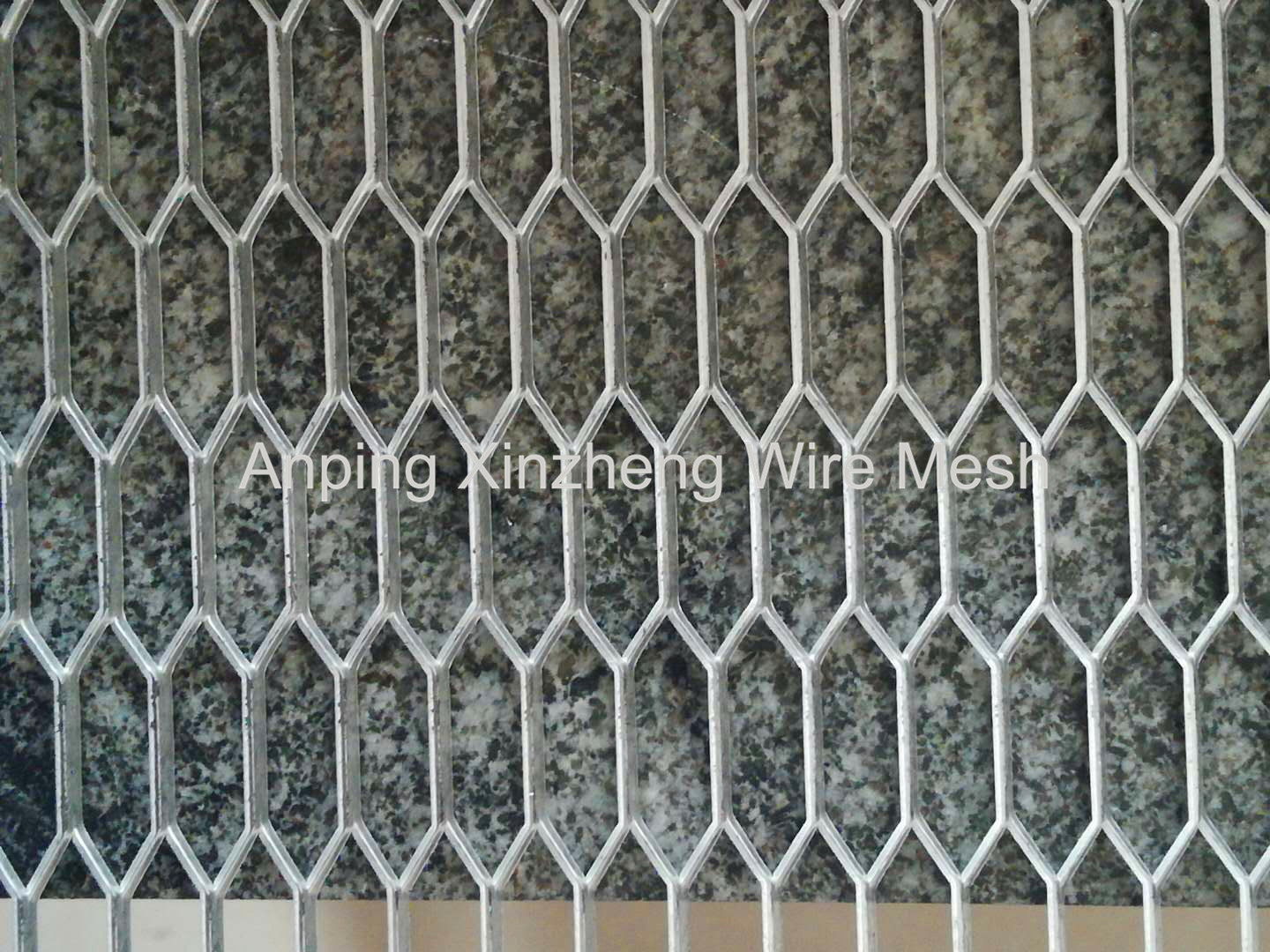 Stainless Steel Hexagonal Expanded Mesh