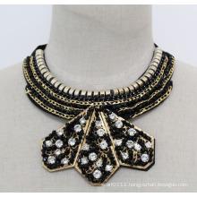 Lady Fashion Charm Crystal Costume Jewelry Pendant Necklace (JE0167)