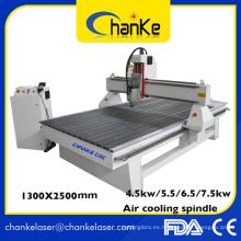 Precio de fábrica Aluminio que corta 3D CNC Diseño de madera CNC Enrutador