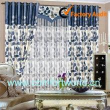 Design de moda nova de 2013 mais recente projeto de cortina para a janela da sala de estar