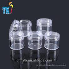 5g10g15g20g kosmetische Kunststoffgläser / PS kleine Probe Cremetiegel