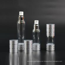 Botella plástica de la bomba, botella sin aire (NAB18)