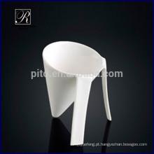 Copo de sobremesa do copo do sorvete do procelain da caneca especial do procelain