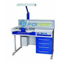 poste de travail dentaire (personne seule) (équipements de laboratoire dentaire) (modèle: AX-JT4) (homologué CE)