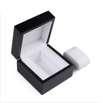 Atacado Concise Style Square Madeira Watch Box Luxo