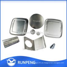 Aluminio estampado de piezas para muebles