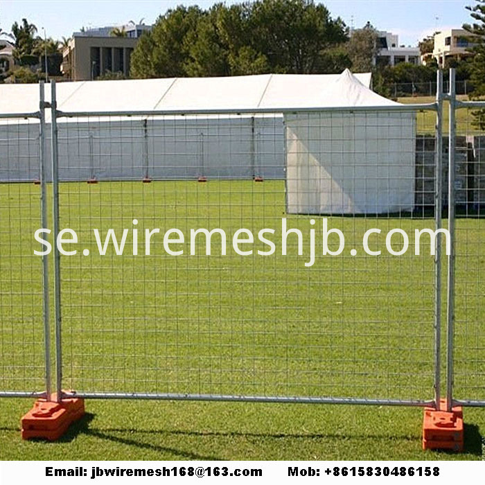 Temporary fence