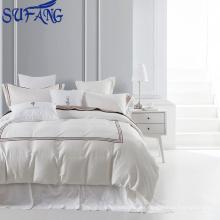 Los proveedores de China ISO9001 más vendidos certificaron el juego de cama barato del hotel, cuatro juegos del lecho del hotel de las estaciones, ropa de cama del hotel