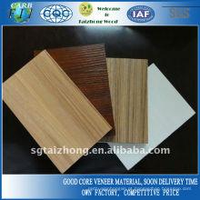 Tipos de Melamina Pine Core Block Board